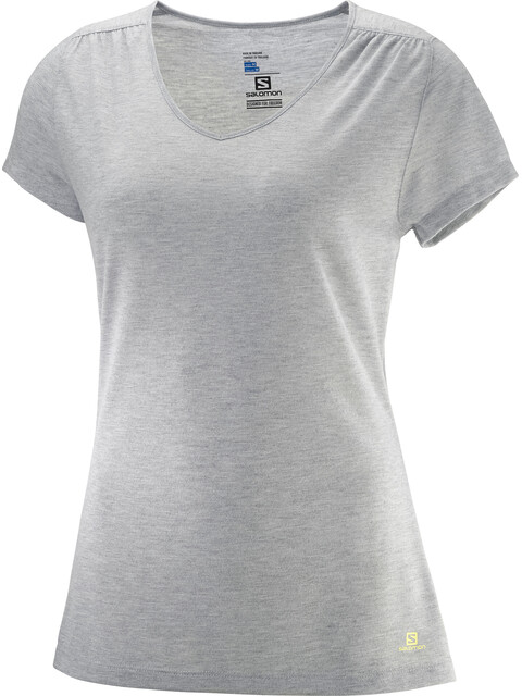 Salomon Ellipse Naiset Lyhythihainen paita , harmaa